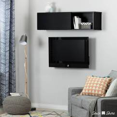 Living Room Storage Units Black Mexican Style Decor 11247 In By South Shore Furniture Montreal Qc 66 Wall Mounted Media Console And Unit Oak