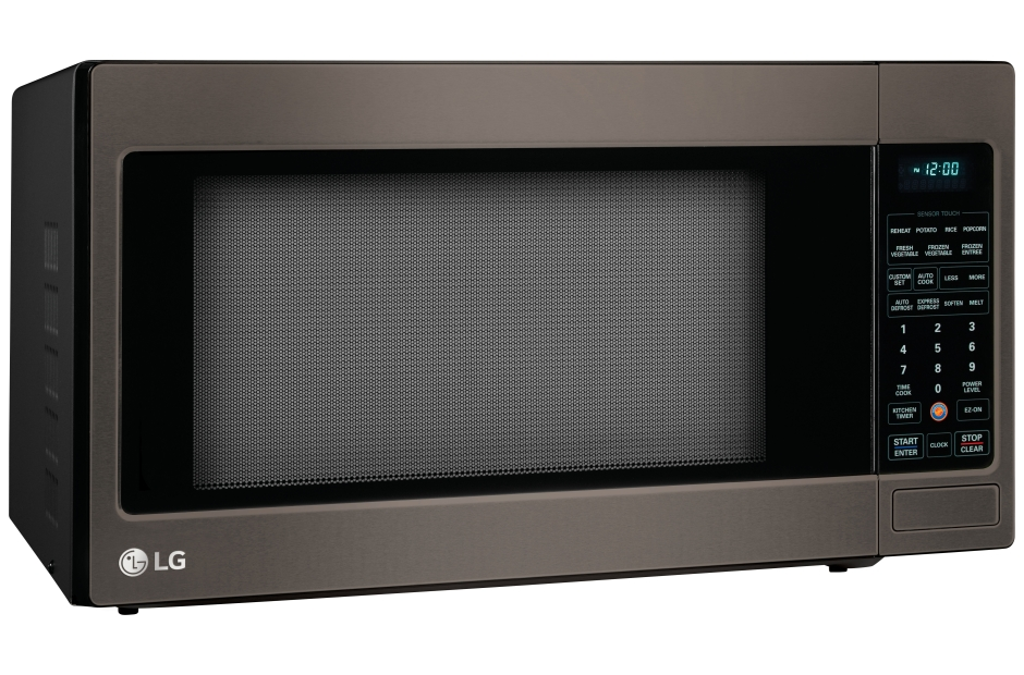 LG Microwave Countertop Black Stainless Steel LCRT2010BD