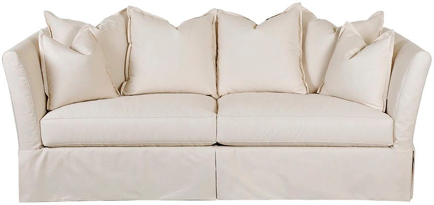 two cushion sofa slipcover free bed d13144s in by klaussner bear de sofas