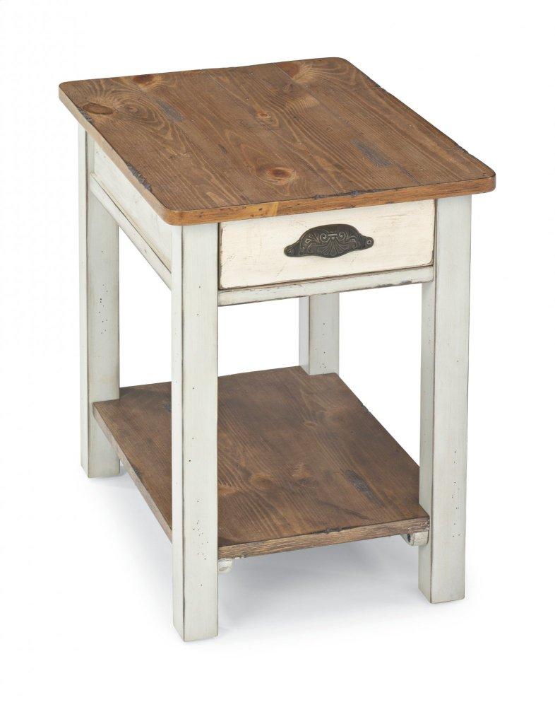 flexsteel chair side table office reviews 2018 668307 in by prescott az chateau chairside