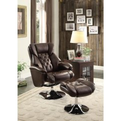 Swivel Reclining Chairs For Living Room Decorating A With Corner Fireplace 8548brw1 In By Homelegance Orange Ca Chair Ottoman
