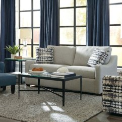 Craftmaster Living Room Furniture Ideas For The 76435068 In By Findlay Oh Hidden Additional Stationary Sleeper Sofas Two Cushion