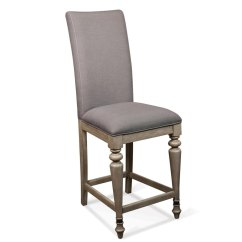 Upholstered Counter Height Chairs Coleman Patio 21538 In By Riverside Corinne Stool Sun Drenched Acacia Finish