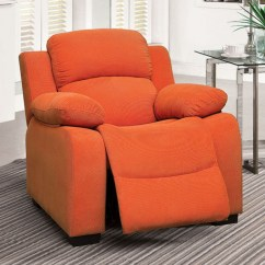 Kids Recliner Chair Shower Chairs At Cvs Cm6007or In By Furniture Of America Simi Valley Ca Connie