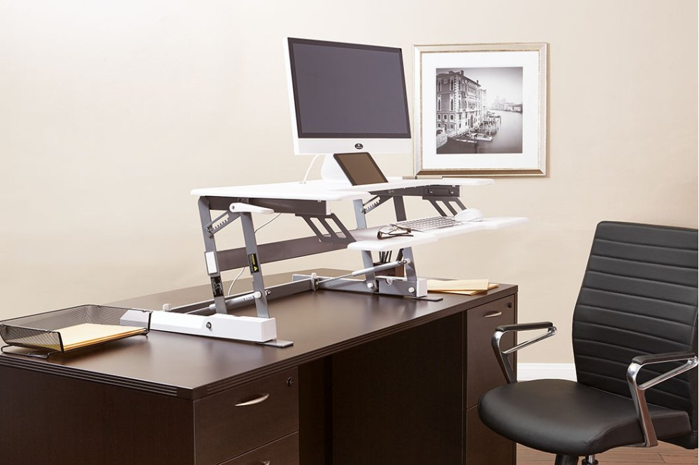 office chair riser design usa dr3622wh in by star leominster ma multiposition desk hidden additional
