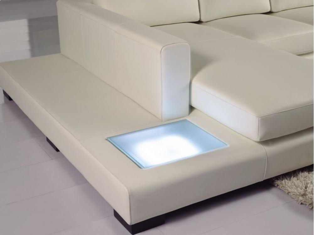 t35 mini modern white leather sectional sofa best material for large dogs vgyit35minibl in by vig furniture divani casa eco with light