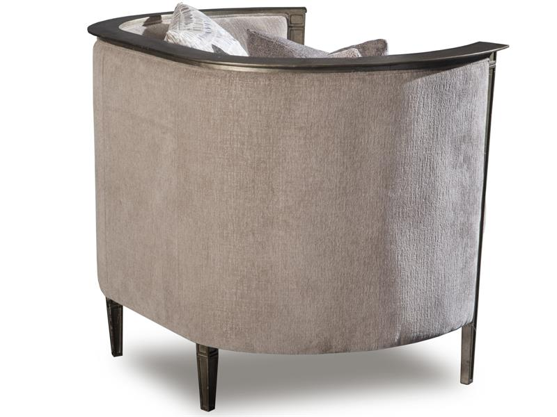 pewter chair that unfolds into a bed u442050075 in by magnussen home newnan ga