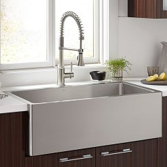 36 Inch Kitchen Sink Inexpensive Remodels D35140036075 In Stainless Steel By Dxv Vancouver Bc Hillside