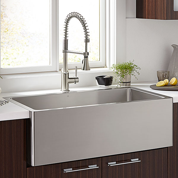 36 kitchen sink free standing d35140036075 in stainless steel by dxv cincinnati oh hillside inch