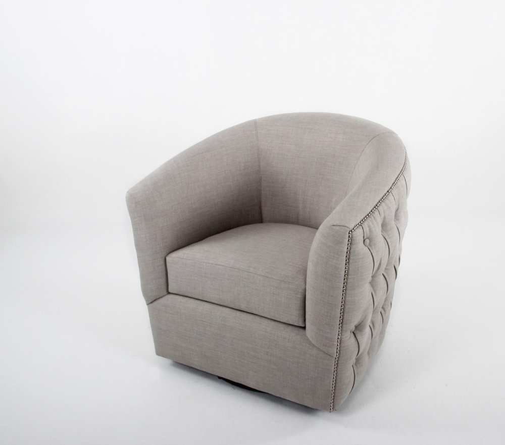 swivel tub chairs leather couch and chair cc2630 in by container marketing inc w button tufted back