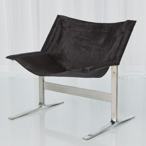 hair on hide office chair for living zero gravity patio xl 991943 in by global views cantilever black