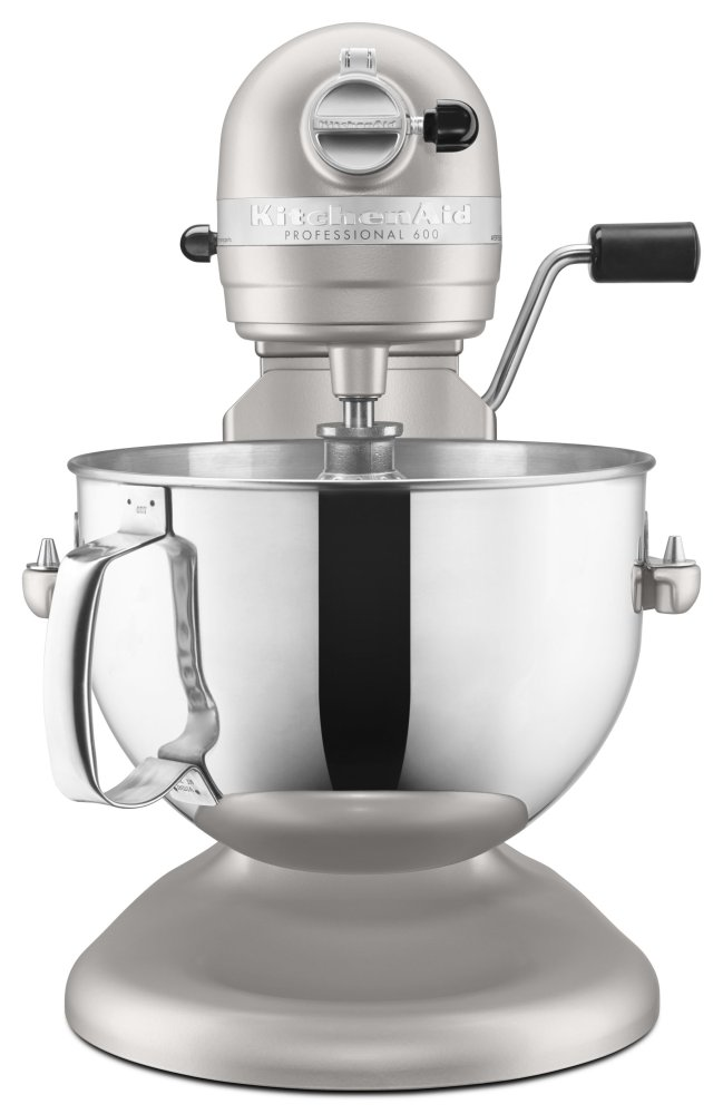 kitchen aid pro 600 remodeled kp26m1xnp in nickel pearl by kitchenaid englewood fl hidden additional series 6 quart bowl lift stand mixer logo