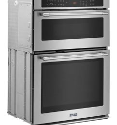 maytag 30 inch wide combination wall oven with true convection 6 4 cu ft  [ 792 x 1000 Pixel ]
