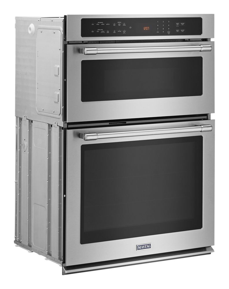 hight resolution of maytag 30 inch wide combination wall oven with true convection 6 4 cu ft