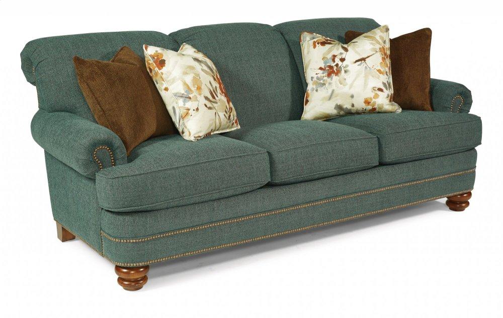 bay sofa bed plans 779131 in by flexsteel attica ny bridge fabric with nailhead trim