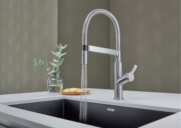 professional kitchen faucet best sink 401992 in polished chrome by blanco ottawa on solenta senso semi