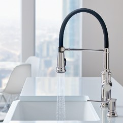 Professional Kitchen Faucet Glass Backsplash For 442508 In Polished Chrome By Blanco Ottawa On Empressa Semi