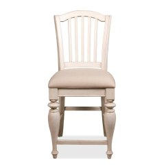 White Upholstered Chairs Tantra Chair Design Dimensions 36459 In By Riverside Hopkinsville Ky Mix N Match Counter Height Dover Finish