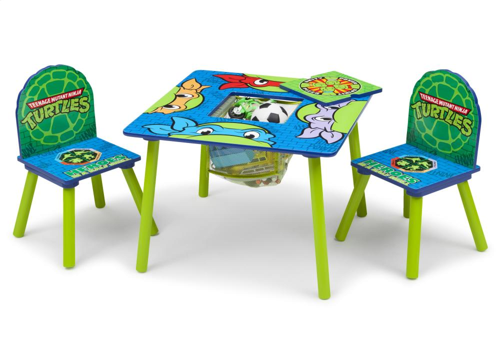 ninja turtles chair adirondack covers tt89486nt1117 in by delta children warrensburg mo teenage mutant table set with storage style 1