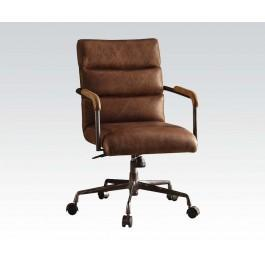 las vegas office chairs chair booster seat asda 92414 in by acme furniture inc nv brown