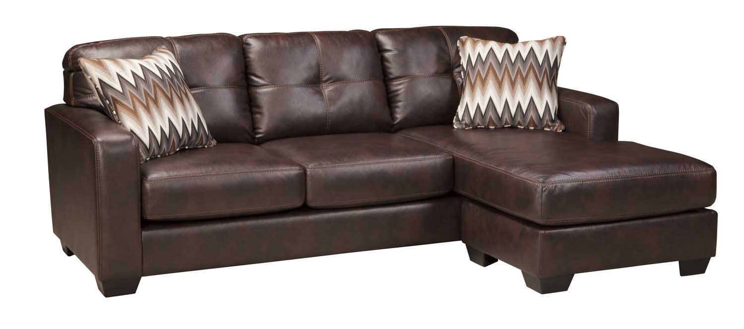 ashley cohes sofa chaise modern sectional sleeper 8870118 in by furniture tucson az
