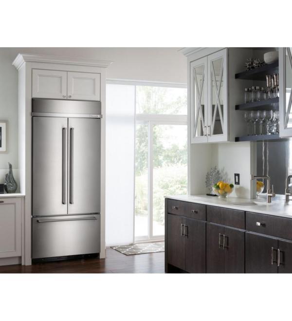 Kitchenaid Refrigerators In Boston Built-in Kbfn506ess