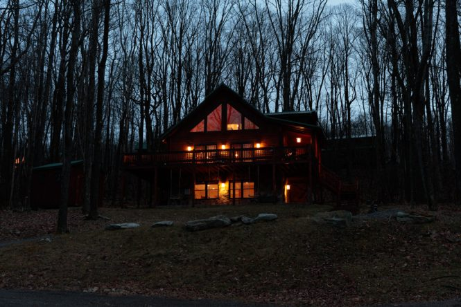 Log Cabin Before Color Correction
