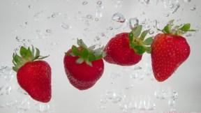 19-Strawberries in water