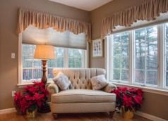 New England Sitting Room at Christmas