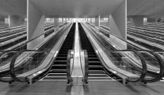 Escalators - Caesar Palace - Las Vegas