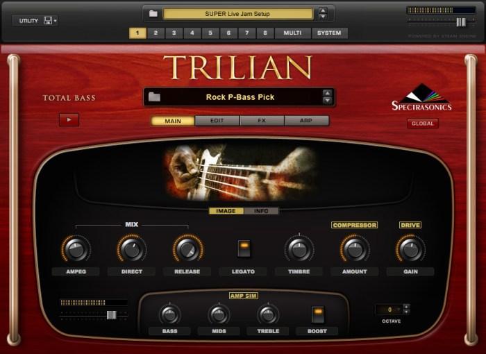 Spectrasonics Trilian VSTi Free Download