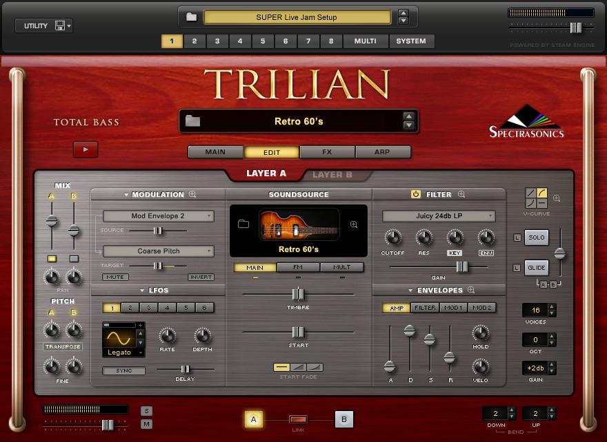 Spectrasonics - Trilian