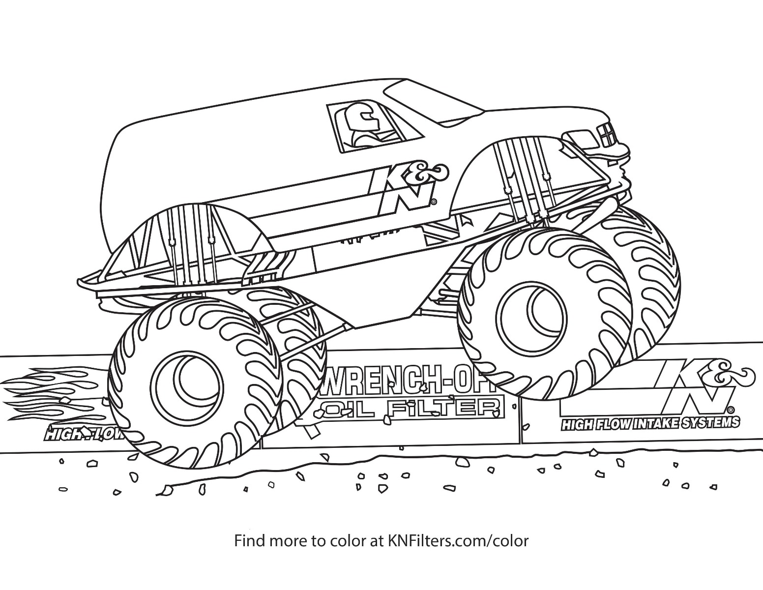 K Amp N Printable Coloring Pages For Kids