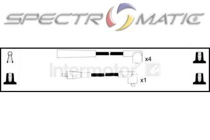 SPECTROMATIC LTD: 73110 ignition cable kit MAZDA 323 MX3