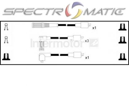 SPECTROMATIC LTD: 73171 ignition cable leads kit FIAT