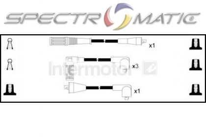 SPECTROMATIC LTD: 73174 ignition cable leads kit FIAT