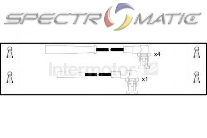 SPECTROMATIC LTD: 73236 ignition cable leads kit RENAULT