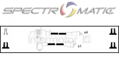 SPECTROMATIC LTD: 73252 ignition cable leads kit PEUGEOT