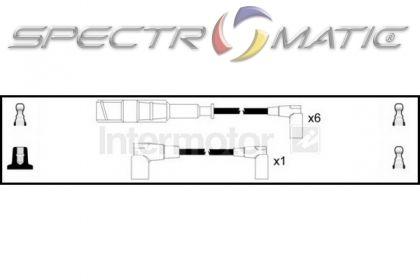 SPECTROMATIC LTD: 73281 ignition cable leads kit MERCEDES