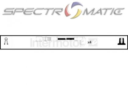 SPECTROMATIC LTD: 73294 ignition cable kit FIAT CIQUECENTO