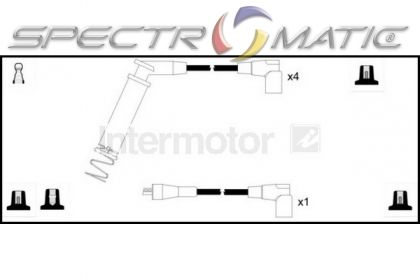 SPECTROMATIC LTD: 73313 ignition cable leads kit OPEL