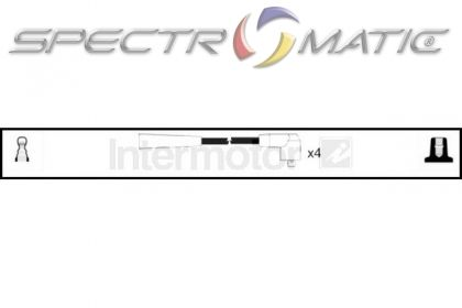 SPECTROMATIC LTD: 73363 ignition cable leads kit MAZDA DB