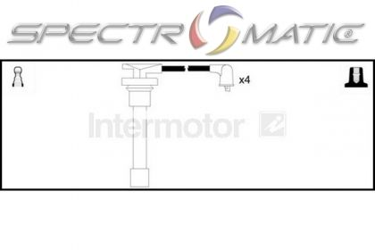 SPECTROMATIC LTD: 73378 ignition cable leads kit HONDA