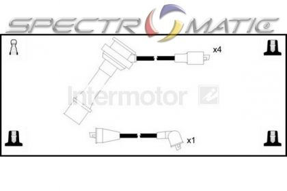SPECTROMATIC LTD: 73400 ignition cable leads kit SUZUKI