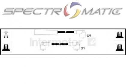 SPECTROMATIC LTD: 73423 ignition cable leads kit SKODA