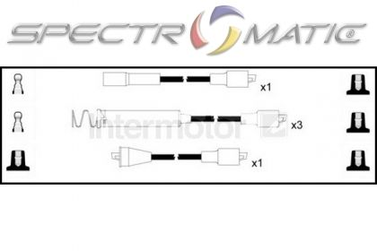 SPECTROMATIC LTD: 73457 ignition cable leads kit OPEL