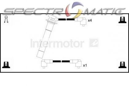 SPECTROMATIC LTD: 73478 ignition cable leads kit SEAT