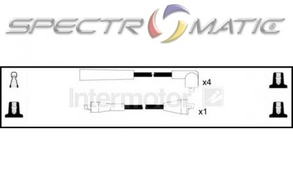 SPECTROMATIC LTD: 73560 ignition cable leads kit MAZDA 323