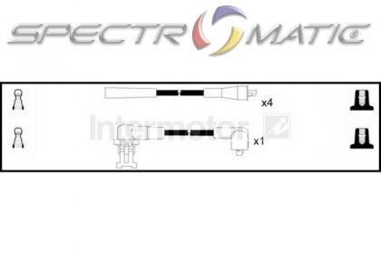 SPECTROMATIC LTD: 73580 ignition cable leads kit RENAULT