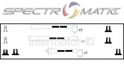 SPECTROMATIC LTD: 73630 ignition cable leads kit